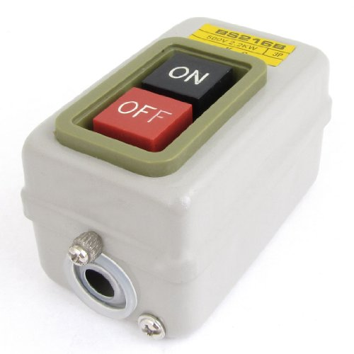 AC 500V 2.2KW Power Drei Phase ON-OFF-Self Locking Push Button Switch -