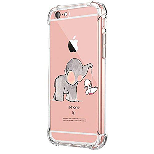 Funda Compatible iPhone 6 6S Carcasa Silicona Transparente