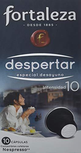 Café FORTALEZA - Cápsulas de Café Despertar Compatibles con Nespresso - Pack 24 x 10 - Total: 240...