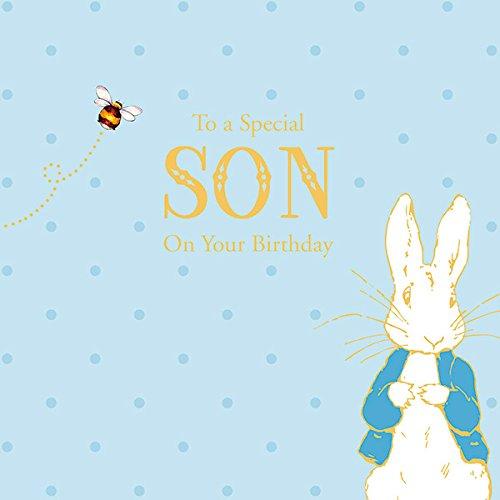 Peter Hase Special Son Geburtstagskarte