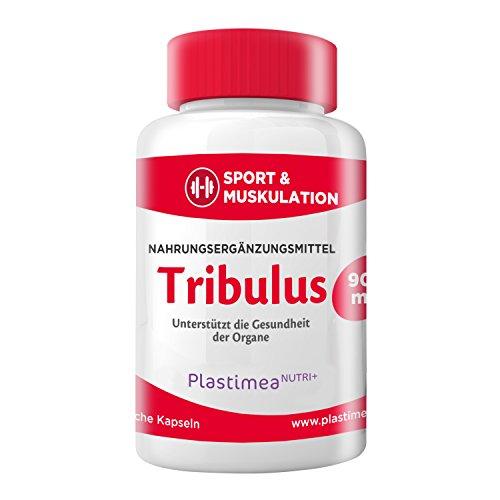 TRIBULUS TERRESTRIS 900 mg Tagesdosis - PREMIUMQUALITÄT - Wunderpflanze, steigert MUSKELAUFBAU & POTENZ – IDEAL auch für SPORTLER ! - Erhöht auf natürliche Weise Ihren Testosteronspiegel - 100% pflanzlich-vegan - hochdosiertes SAPONIN - 3-Monatskur !