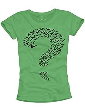 Maglietta Donna - Riddler - T-shirt Sheldon