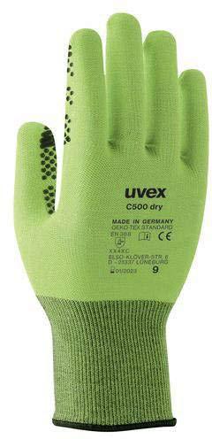 Uvex 6049910C500Trocknen Handschuh, Größe 10