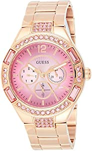 Guess Lollipop Women's Pink Dial Stainless Steel Band W