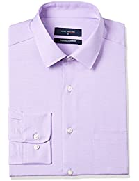 Peter England Men's Solid Regular Fit Cotton Formal Shirt