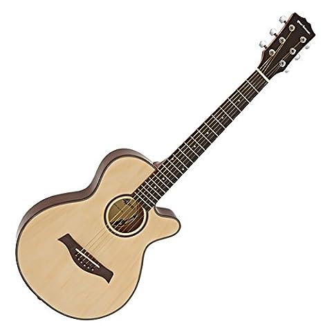 3/4 Single-Cutaway Akustikgitarre von Gear4music (Single Cutaway Gitarre)