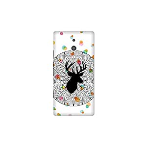 The Racoon Grip The Poser hard plastic printed back case / cover for Sony Xperia P