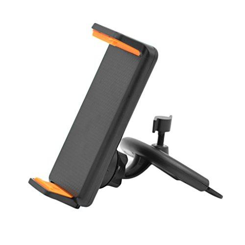 Kfz-Universal-Handyhalterung für CD-Schlitz, 360 Grad drehbar, für Handy und Tablet - Ranuw