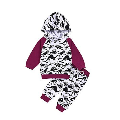 DIASTR Baby Kinder Langarm Outfits Set Baby