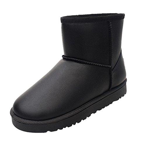 martin-bottes-chaussures-overdose-femmes-hiver-neige-dames-bas-talon-ceinture-boucle-40-noir