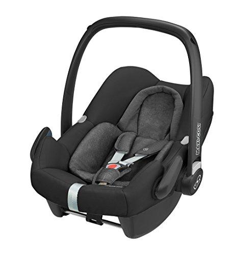 Maxi-Cosi Rock sichere Babyschale, Gruppe 0 + (0-13kg), Kindersitz für One i-Size Konzept, nomad schwarz