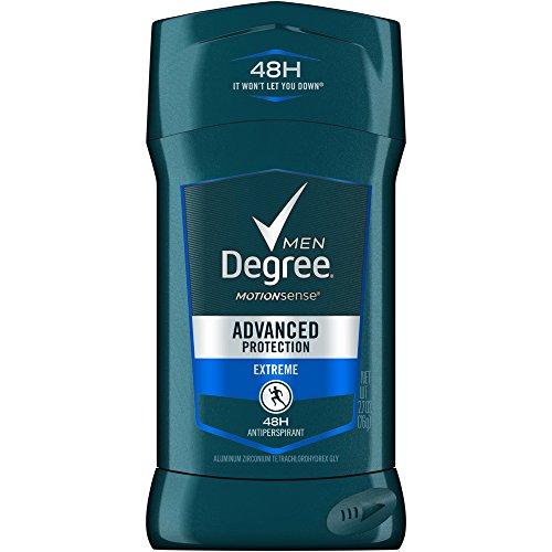 Degree Men Adrenaline Series Antiperspirant & Deodorant, Extreme, 2.7 Oz (Pack of 4) by Degree