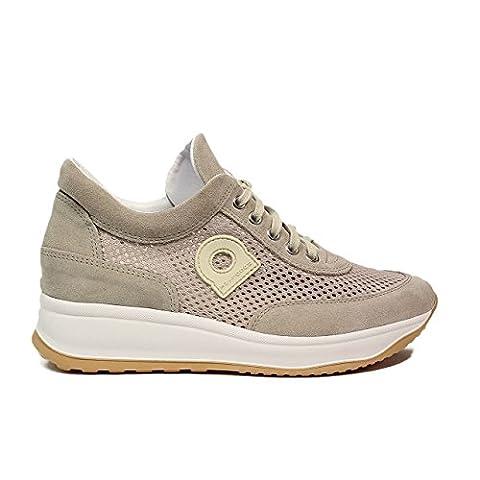Rucoline1304-82627 A 1304 CHAMBERS LEON chaussure couleur beige nouvelle collection de printemps 2017 (37)