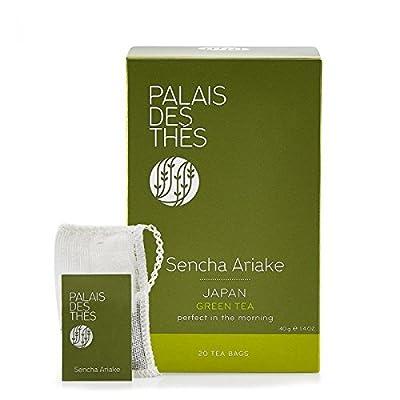 Palais des Thés - Thé vert SENCHA ARIAKE - 20 sachets mousselines