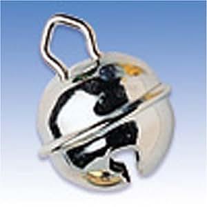 KnorrPrandell 8605505 Metallglöckchen, 19 mm Durchmesser, silberfarbig