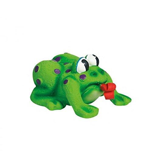 Hundespielzeug: POP-UP FROSCH aus Latex 11 x 10 x 6,5cm #502081 (Flamingo Hundespielzeug)