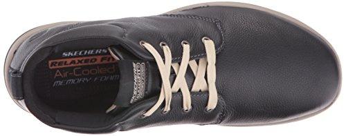 Skechers USA Mens Harper Meldon Chukka Boot Black