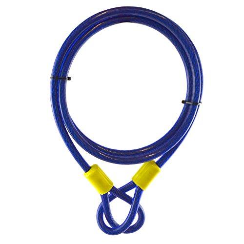 1,8M X 10mm / câble de sécurité de verrouillage anti-coupure