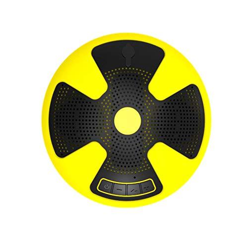 Bluetooth-Lautsprecher, Schwimmender Bluetooth-Lautsprecher, IPX7 Wasserdichter Pool-Lautsprecher, Wireless 10W Mit Mikrofon, Geeignet Für Strand, Bad, Boot, Outdoor, Home (Weiß, Gelb, Grün),Green -
