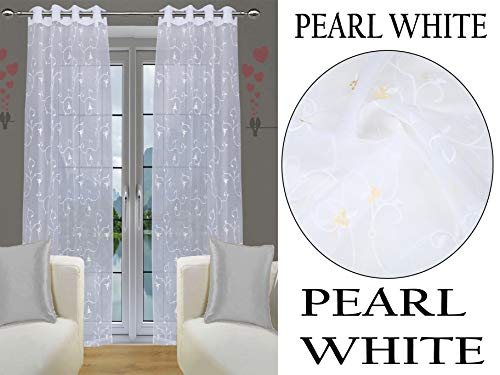 check MRP of sheer curtains white JVIN FAB