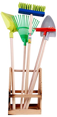 Gartenwerkzeug Spaten Laubharke Schaufel Garten Werkzeug 5774   Garten > Gartengeräte > Spaten und Schaufeln   Holz - Metall   Kinzo