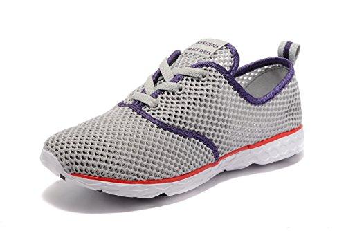 Kenswalk , Damen Aqua Schuhe Grau