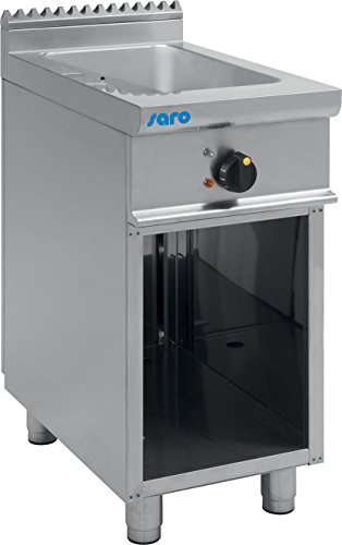 Saro 423-1150 E7/KME1BA Bain Marie mit offenem Unterbau, 13 L