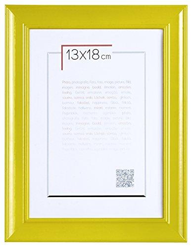 Brio 30922 Cadre Photo Pep's Jaune 13 x 18 cm