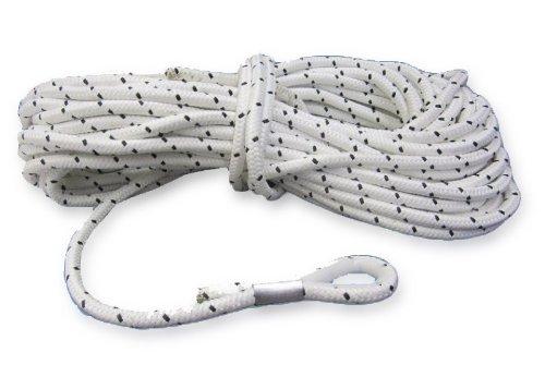 30 Meter Ankerleine 6 mm Polyester mit Nylonkausche