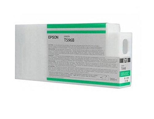 Epson T596B C13T596B00 - Cartouche d'encre d'origine - Vert (Green) pour Stylus Pro - 350ml