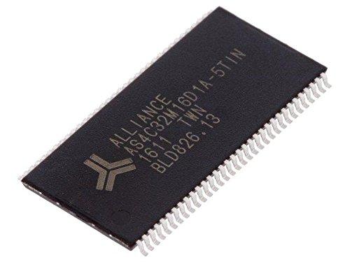Sdram Clock (AS4C32M16D1A-5TIN Memory DDR1,SDRAM 32Mx16bit 2.5V 200MHz TSOP66)