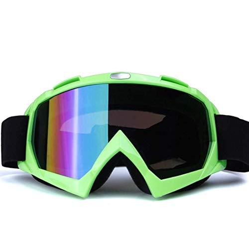 ZALIANG Schutzbrille Sonnenbrille Reitbrille Offroad-Motorrad ATV-Rennbrille Ski Snowboard Erwachsenenschutzbrille Staubdicht Kratzfest Antibeschlag