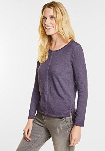 Cecil Damen Langarmshirt dark purple (lila)