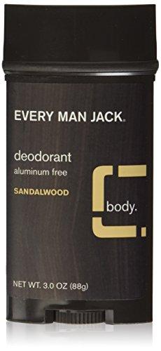 Every Man Jack Deodorant 3oz Sandlewood Aluminum-Free