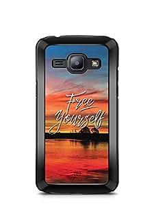 YuBingo Free Yourself Designer Mobile Case Back Cover for Samsung Galaxy J1