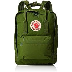 "Fjällräven 27171 2018 - Mochila tipo casual para portátil de hasta 13"", 13 Litros, Verde (Leaf Green), 23 x 16 x 35 cm"