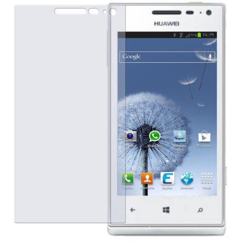 dipos I 2X Schutzfolie klar passend für Huawei Ascend W1 Folie Displayschutzfolie