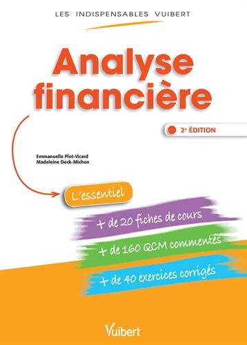 Analyse financire - Fiches de cours - QCM Comments - Exercices corrigs