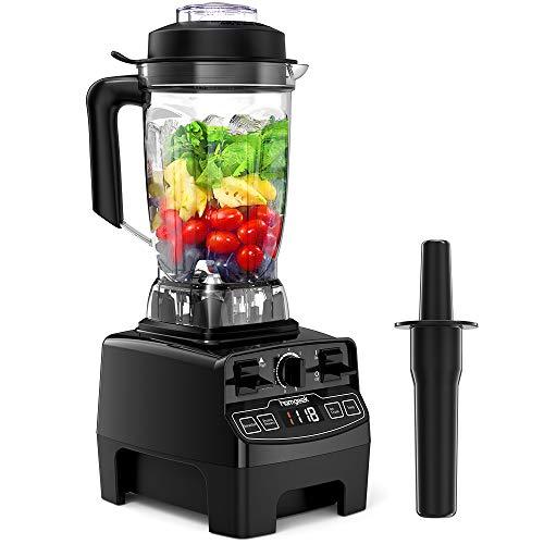 Standmixer Smoothie Maker, homgeek 2000W Smoothie Blender, Standmixer Hochleistung, 33,000 U/min, 2L Tritan-Behälter ohne BPA, High Performance Mixer[2019 Neue Version]