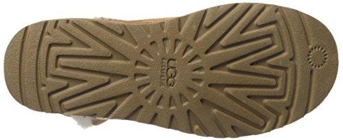 UGG W Bailey Button 5803 Damen Schlupfstiefel Braun (Chestnut)