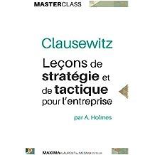 Leçons de stratégie et de tactique pour l'entreprise