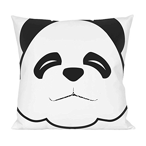 Sleepy Panda Face Pillow (Sleepy Bear Tee)