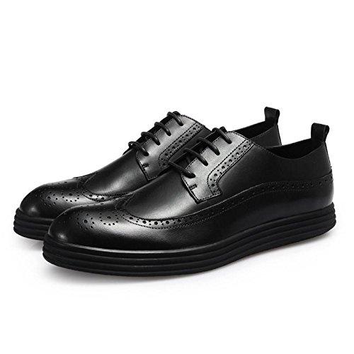Affaires occasionnels chaussures cuir rétro vague hommes d'Angleterre dans les chaussures d'automne et d'hiver