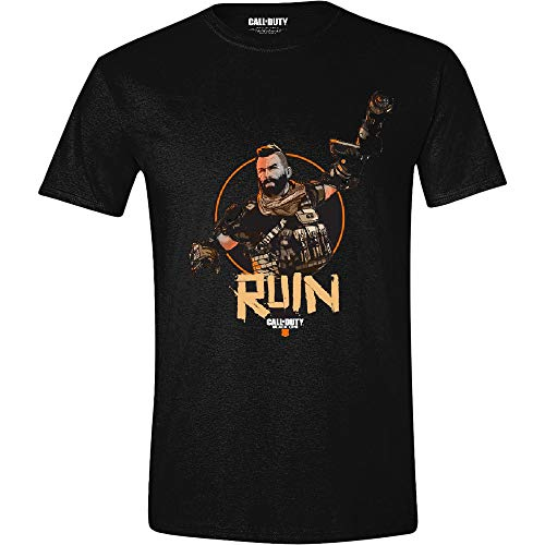 Call of Duty: Black Ops 4 - Ruin - T-Shirt | Offizielles Merchandise, Größe:M (Sledgehammer Games)