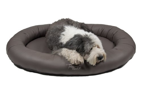Artikelbild: TrendPet 'Comfado' 130x90cm Elephant, Luxus Hundebett aus Soft-Kunstleder 'Das Hundebett'