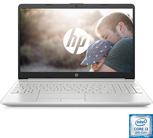 HP PC Portable 15-dw0051nf 15'' FHD Argent (Intel Core i3 8145U, RAM 4 Go, SSD 128 Go + 1 To Disque...