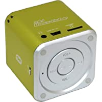Haut-parleurs actifs Jaytech 77002421 Bluetooth Mini Basse Cube (1 pièce, 3,5 mm jack, 3 Watt, USB)