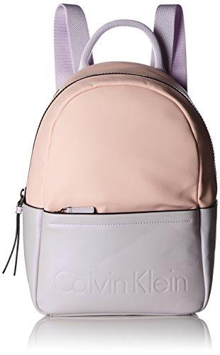 Calvin Klein Susi3 Backpack Cb - Zaini Donna, Pink (Orchid), 11.5x32.5x22.5 cm (L x H D)