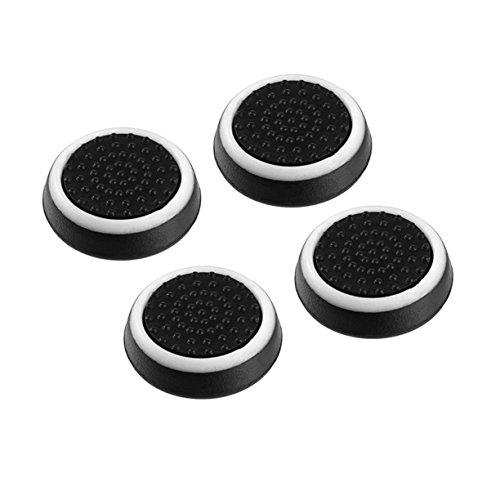 4 stücke Silikon Anti-Slip Gestreiften Gamepad Keycap Controller Daumen Griffe Schutzhülle für PS3 / 4 für X Box One / 360 -
