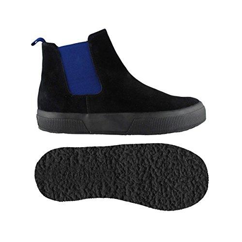 Superga 2318-SUEJ BLACK-INTENSE BLUE